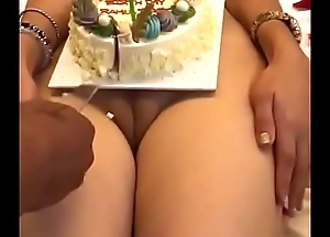 Best birthday celebration in Indian nude girl