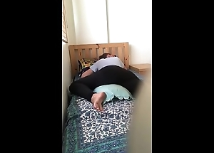 Roomate caught on Camera Humping her Pillow