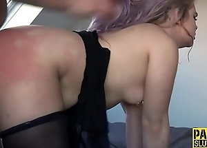 Ass eaten up sub slut