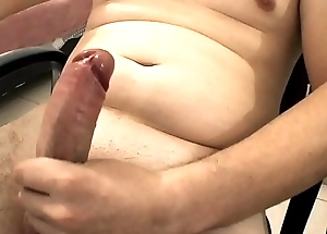 My solo cumshot chunky cock