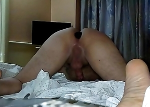 Wife belted my ass for not cumming a hanging fire time