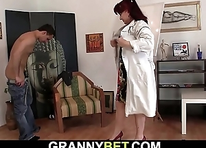 Watch paintress old woman sex games