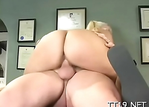 Lewd amateur slut gets her shaved twat licked and fucked