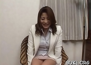 Japan woman gets 2 chaps to fuck her while on duty