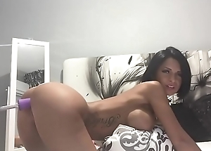 Anisyia Livejasmin Hardcore Pussy Destroyed by Sexmachi