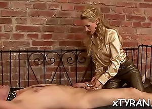 Stunningly hot hottie gets her mouth and pussy fucked hard
