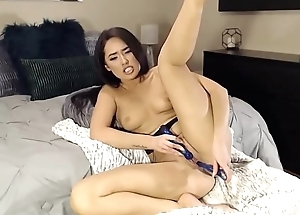 Mixed cutie Kora with hot body and tight pussy does cum