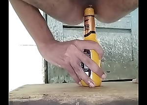 aggravation fucked by bottle