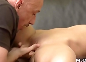 Old small dick and to one's liking fashioned fuck Would you pole-dance on my