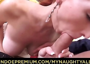 MY NAUGHTY Minute-book - Amateur Czech redhead Isabella Lui gets cum on tits in hot photoshoot fuck