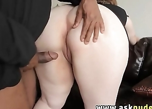 BBW MILF huge bosom blowjob and fucked by black cock