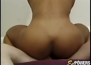 Muscle beauty Kitana Steele fed cum after rough of a mind to anal