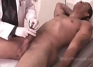 Hung Black man gets a Physical Exam from White Doctor
