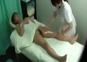 Hot Japanese Dame Caught On Spycam Gets A Unrefined Massage From Sexy Japanese Masseuse