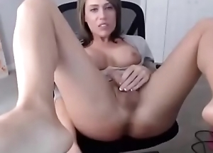 Incredible hot trap plays with cock and dildo on cam
