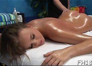 These angels get about than just a regular massage, they get drilled hard