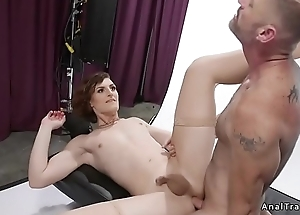 Tranny and coxcomb anal fuck unendingly other