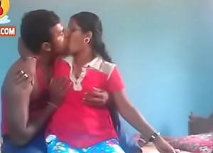 Village couple having sex in front be incumbent on camera