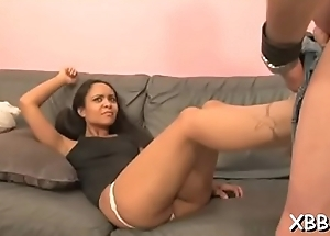 Pleasant ladies slapping and busting balls just for pleasure