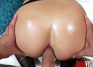 Bamvisions Blonde Kenzie Green Wears Stockings be proper of Anal Sex