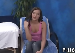 Hot 18 year old hottie gets fucked hard by her massage therapist