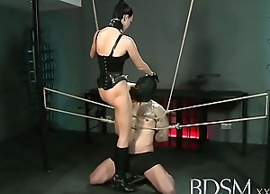 bdsm xxx slave boy gets promised and receives hardcore sex