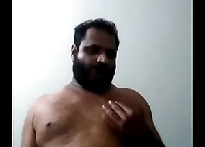 Indian gay bear daddy jerking
