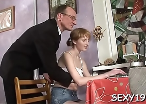 Sweet honey is getting her twat drilled by coach from treacherously