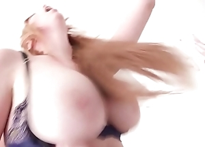 7on1 Double Anal Gangbang with Busty Redhead Lauren Phillips Balls Impenetrable depths Anal