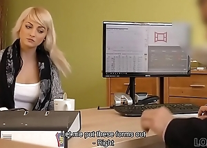 LOAN4K. Passionatre fucking on the table in office be expeditious for loan manager