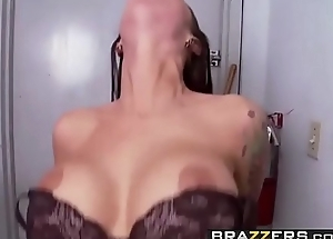 Day with a Pornstar - (Angelina Valentine) loves sports and cock sucking - Brazzers