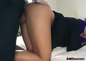 Sexy Arab Apolonia Gets Bent Walk out on And Fucked