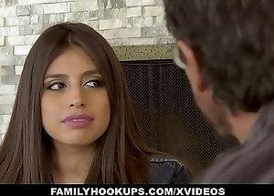 FamilyHookUps - Teen Gets Titty Fucked by Transcriber