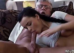 I caught daddy watching plus old man What would you choose - computer