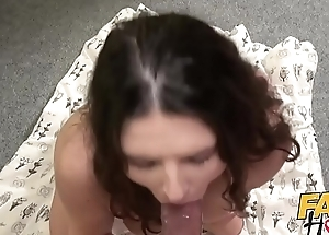 Simulate Hostel Young Italian backpacker babe has squirting orgasm