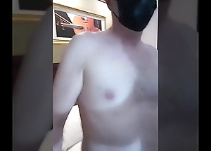 Chinese Shemale TS Milan give western blowjob and fucked by fat dick