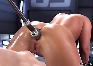 Shafting machine anal pounds brunette