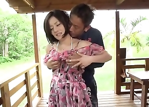 Great outdoor porn scenes along hot wife, Minami Asano - More to hand javhd.net