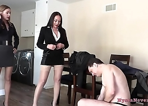 Don'_t you want to be thrilled by us? (Nyssa Nevers and Star Nine BALLBUSTING Andrea Dipre'_) - PREVIEW