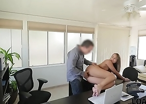 LOAN4K. Sweet thing Liza isn'_t whore but appears in dirty loan porn